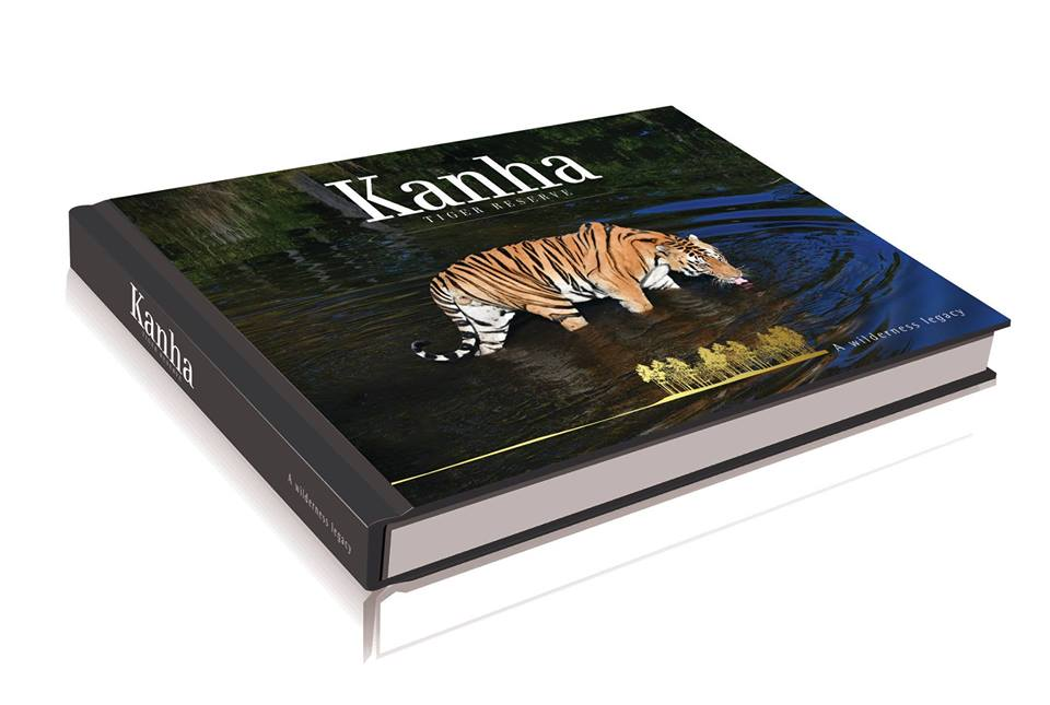 the coffee table book on kanha tiger reserve i4u travel services. Black Bedroom Furniture Sets. Home Design Ideas